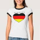 Günstiges Hamburg-Herz-Shirt Deutschland WM 2010 T-Shirt
