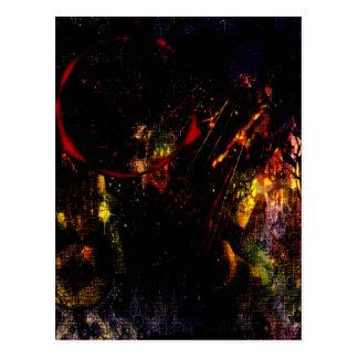 Gurken-Farben Postkarte