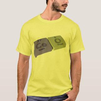 Gurren als Co-Kobalt und O-Sauerstoff T-Shirt