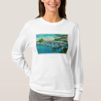 Gurren-Bucht-Brücke in der Nordbiegung, Oregon T-Shirt