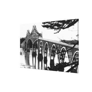 Gurren-Bucht-Brücke PhotographNorth Biegung ODER Gespannter Galeriedruck