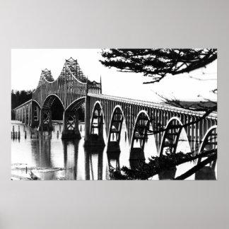 Gurren-Bucht-Brücke PhotographNorth Biegung ODER Poster
