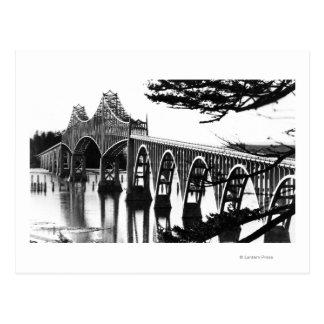 Gurren-Bucht-Brücke PhotographNorth Biegung ODER Postkarten