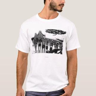 Gurren-Bucht-Brücke PhotographNorth Biegung ODER T-Shirt