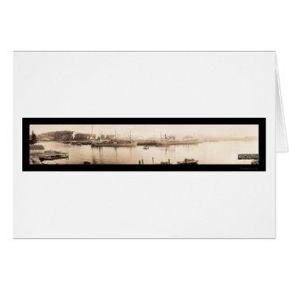 Gurren-Bucht ODER Schiffs-Foto 1915 Grußkarte
