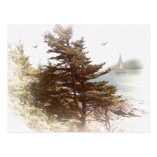 Gurren-Bucht Oregon Postkarte