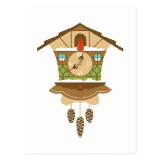 Gurren-Gurren-Uhr Postkarte