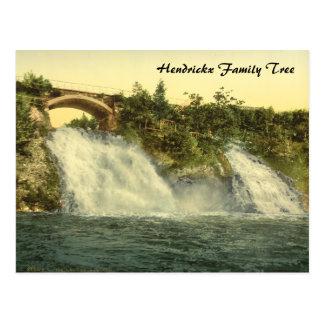 Gurren-Wasserfälle, Wellness-Center, Belgien Postkarte