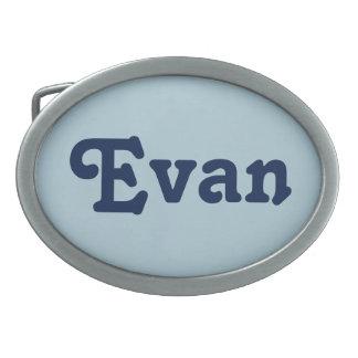 Gürtelschnalle Evan