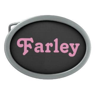 Gürtelschnalle Farley