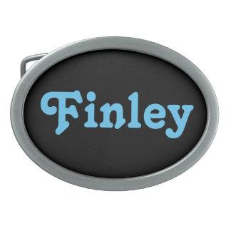 Gürtelschnalle Finley