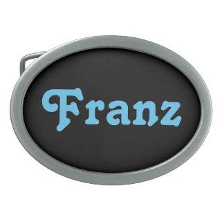 Gürtelschnalle Franz