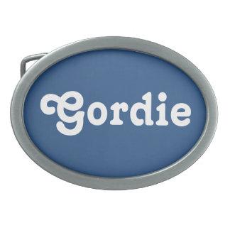 Gürtelschnalle Gordie