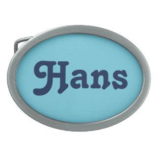 Gürtelschnalle Hans