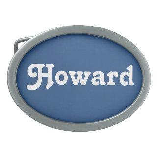 Gürtelschnalle Howard