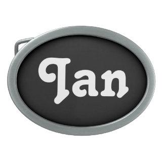 Gürtelschnalle Ian