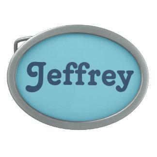 Gürtelschnalle Jeffrey