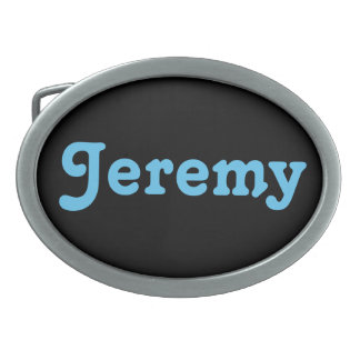 Gürtelschnalle Jeremy