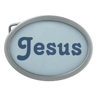 Gürtelschnalle Jesus