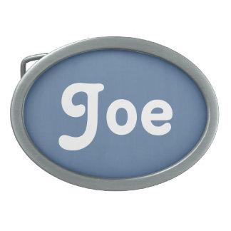 Gürtelschnalle Joe