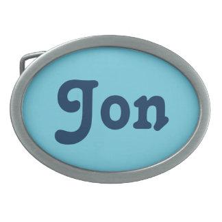 Gürtelschnalle Jon