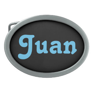 Gürtelschnalle Juan