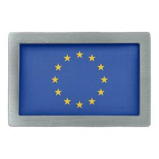 Gürtelschnalle mit Flagge der europäischen