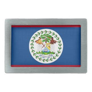 Gürtelschnalle mit Flagge von Belize