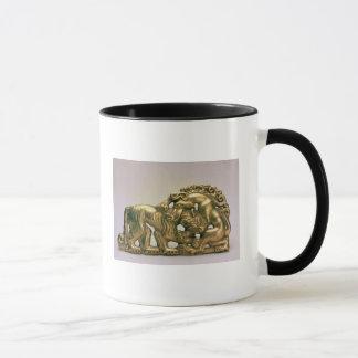 Gürtelschnalle, von einer sibirischen Sammlung von Tasse