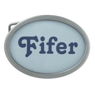 GürtelschnalleFifer Ovale Gürtelschnalle