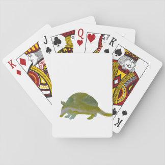 Gürteltier Spielkarten