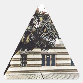 Gurudwara Dreieckiger Aufkleber