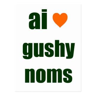 Gushy Noms Postkarten