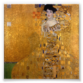 Gustav Klimt - Adele Bloch-Bauer I. Kunstphoto