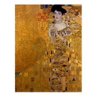 Gustav Klimt - Adele Bloch-Bauer I. Postkarte