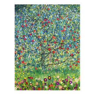 Gustav Klimt: Apfelbaum Postkarte