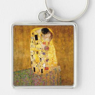 Gustav Klimt das Kuss-Meisterwerk Schlüsselanhänger