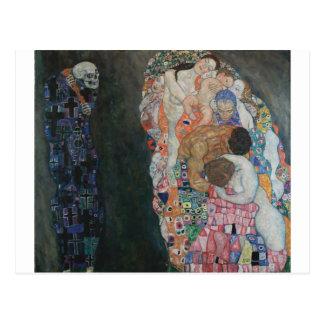 Gustav Klimt - Death und Life, 1910 Postkarte