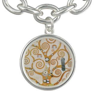 Gustav Klimt der Baum der Leben-Kunst Nouveau Armband