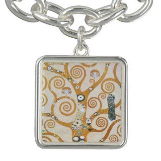 Gustav Klimt der Baum der Leben-Kunst Nouveau Armbänder