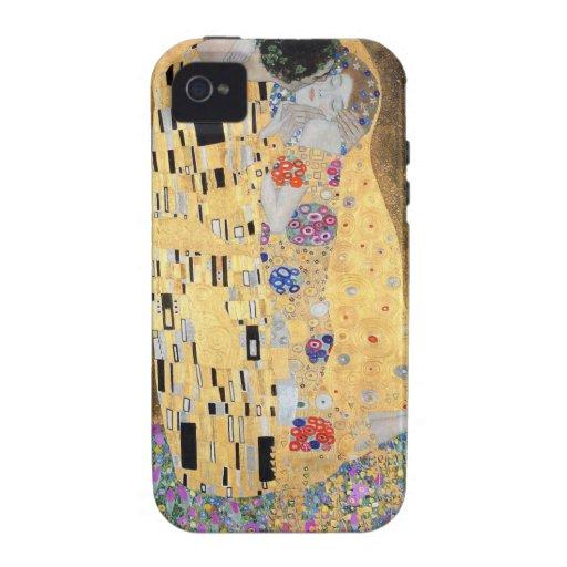 Gustav Klimt der Kuss iPhone 4 Cover