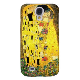Gustav Klimt - der Kuss iPhone 3 Fall Galaxy S4 Hülle