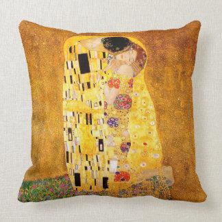 """Gustav Klimt """"der Kuss """" Kissen"""