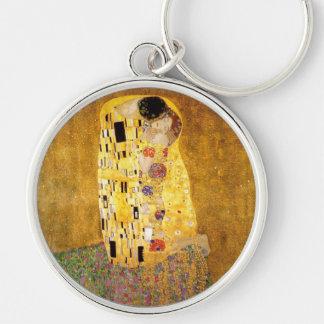 Gustav Klimt der Kuss-Klassiker Schlüsselanhänger