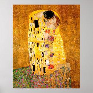 """Gustav Klimt """"der Kuss """" Poster"""