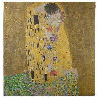 """Gustav Klimt """"der Kuss """" Serviette"""