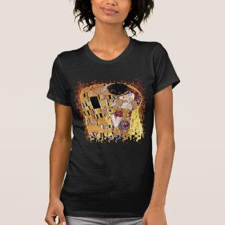 Gustav Klimt - der Kuss - Vintage Kunst Nouveau T-Shirt