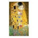 Gustav Klimt der Kuss Visitenkarten