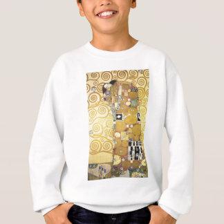 Gustav Klimt - die Umarmung - klassische Grafik Sweatshirt