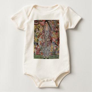 Gustav Klimt - Fredericke Maria Bier-Kunst Baby Strampler